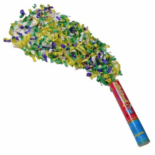 B-Deal Party Popper 25 cm Met Drukknop - glitter