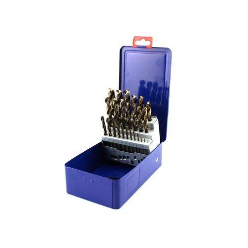 Tooltech Boorset / Borenset HSS-E-CO boren 25 delig 1-13 mm