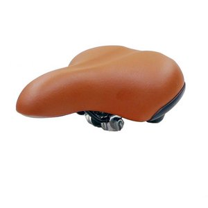 Selle Catch It Fietszadel Tour de Luxe Bruin