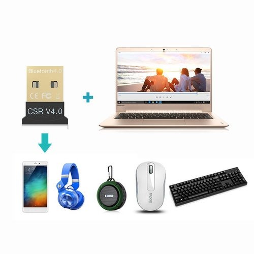 Innovagoods Nano Bluetooth 4.0 USB Adapter