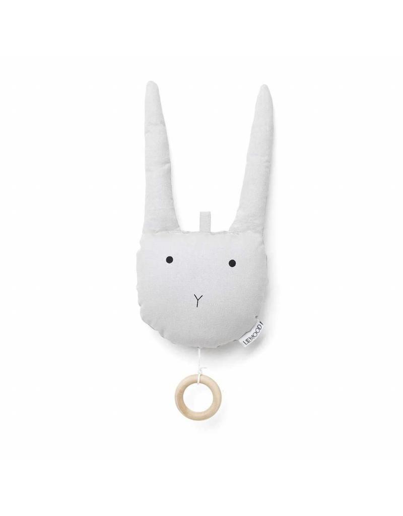 Liewood Liewood Alma muziekmobiel rabbit dumbo grey
