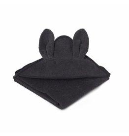 Liewood Liewood badcape 100x100 rabbit dark grey