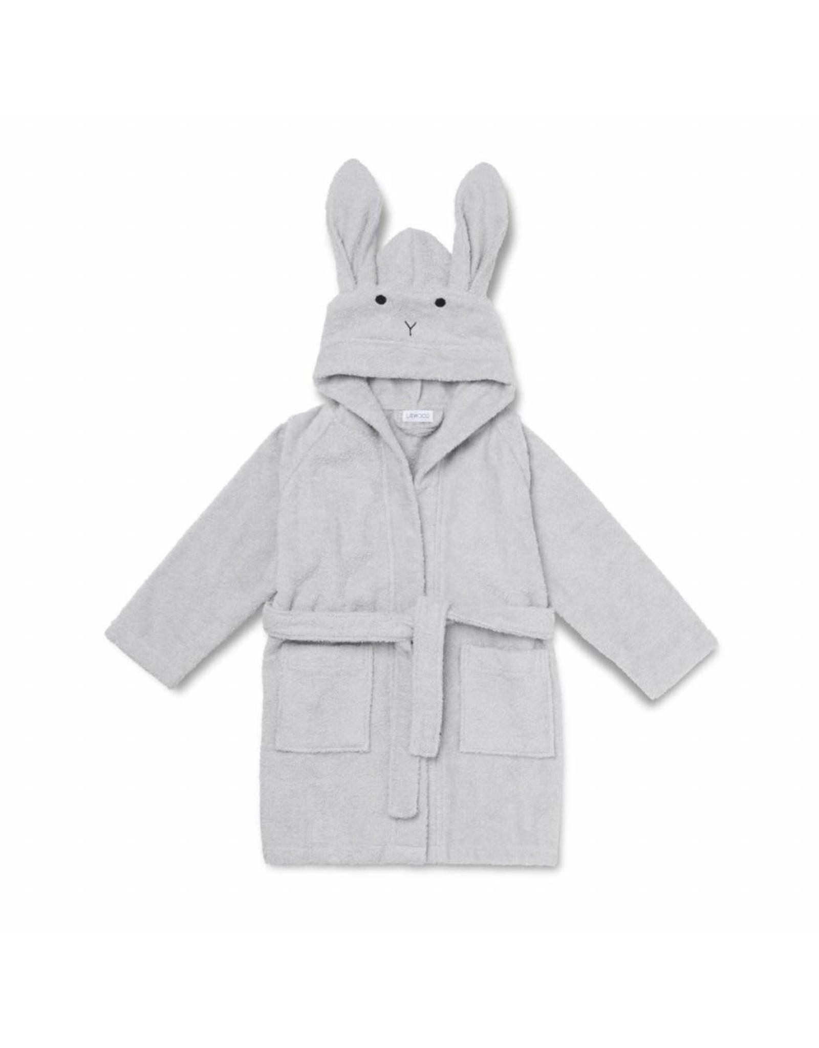 Liewood Liewood Lily badjas rabbit dumbo grey
