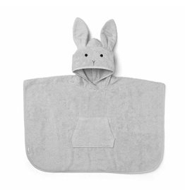 Liewood Liewood badponcho rabbit dumbo grey
