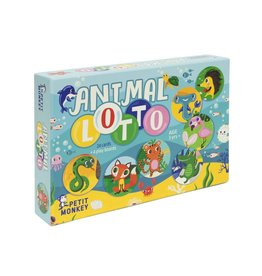 Petit Monkey Petit Monkey animal lotto game 3+