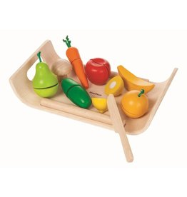 Plan Toys Plan Toys fruit en groenten set 3+