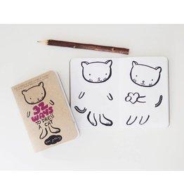 Wee Gallery Wee Gallery activiteitenboekje 32 ways to dress a cat