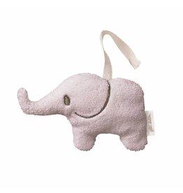 Petit Stellou Petit Stellou rammelaar elephant rose