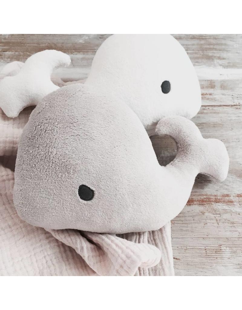 Petit Stellou Petit Stellou muziekmobiel whale greige
