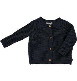 My Little Cozmo my little cozmo knit jacket black