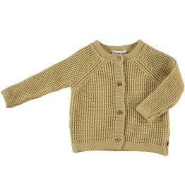 My Little Cozmo my little cozmo knit jacket yellow