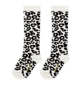 maed for mini maed for mini knee socks white leopard