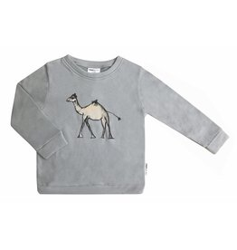 maed for mini maed for mini sweater goofy camel print