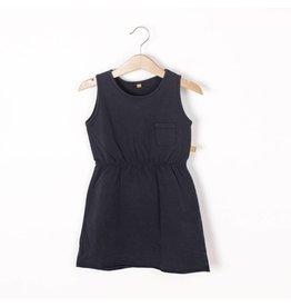 lötiekids lötiekids dress sleeveless solid washed black