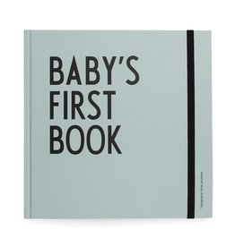 Design Letters Design Letters baby's first book turquoise
