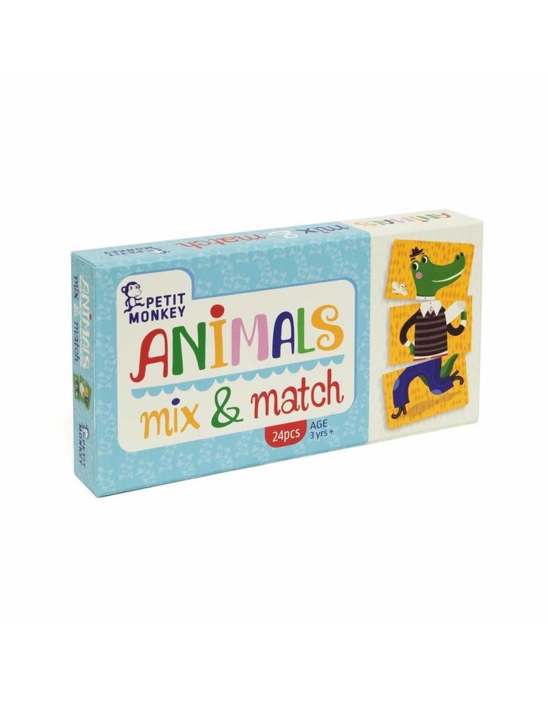 Petit Monkey Petit Monkey animals mix & match game 3+
