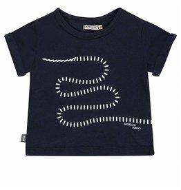 Imps&Elfs Imps&Elfs T-shirt domino navy