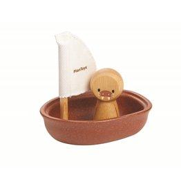 Plan Toys Plan Toys zeilboot walrus 12M+