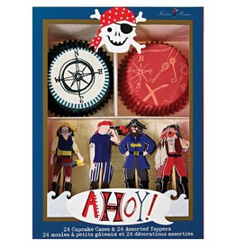 Meri Meri Meri Meri ahoy there pirate cupcake kit