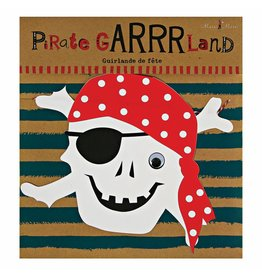 Meri Meri Meri Meri ahoy there pirate garland