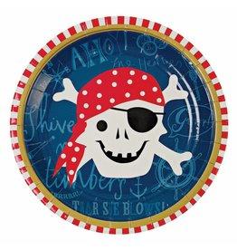 Meri Meri Meri Meri ahoy there pirate plates
