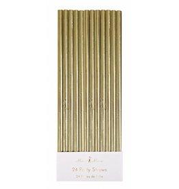 Meri Meri Meri Meri gold foil party straws