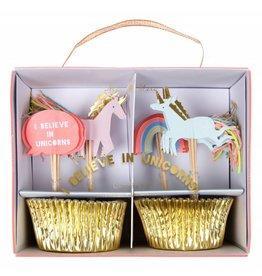 Meri Meri Meri Meri unicorn cupcake kit