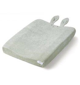 Liewood Liewood Egon waskussenhoes 62x50 rabbit dusty mint