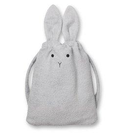 Liewood Liewood towel back pack rugzak rabbit dumbo grey