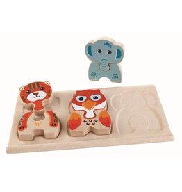 Plan Toys Plan Toys dieren puzzel