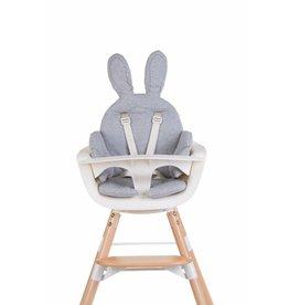 Childhome Childhome universeel stoelkussen rabbit jersey grey