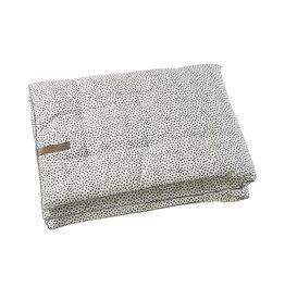 Mies & Co Mies & Co boxkleed/speeldeken cozy dots offwhite 75x95