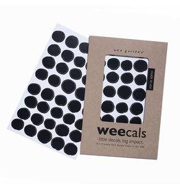 Wee Gallery Wee Gallery muurstickers dots black