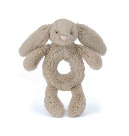 Jellycat Jellycat Bashful bunny rammelaar beige