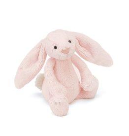 Jellycat Jellycat Bashful bunny knuffel/rammelaar pink