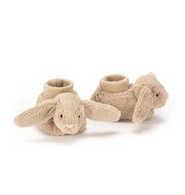 Jellycat Jellycat Bashful bunny pantoffels beige