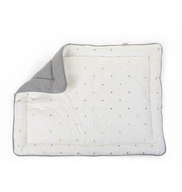 Childhome Childhome parkligger 75x95 jersey grey + gold dots