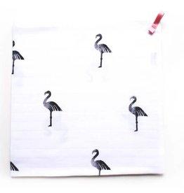 Musje Musje tetradoek 60x60 flamingo