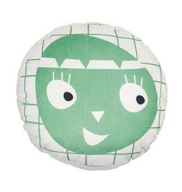 Roomblush Roomblush kussen little indian grey-pastelgreen