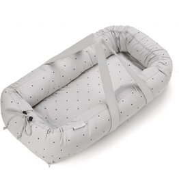 Liewood Liewood babylift classic dot dumbo grey