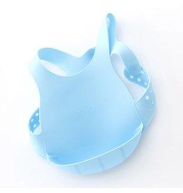 MiniKOiOi MiniKOiOi flexi bib blauw