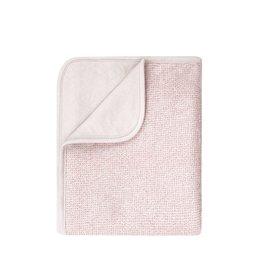 home by door home by Door deken lux printed blanket sand/pink 75x90