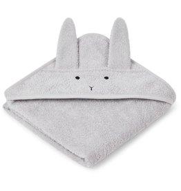 Liewood Liewood Albert badcape 70x70 rabbit dumbo grey