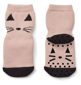 Liewood Liewood anti-slip kousjes cat rose