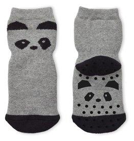 Liewood Liewood anti-slip kousjes panda grey melange