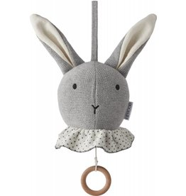 Liewood Liewood muziekmobiel rabbit grey melange