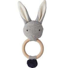 Liewood Liewood rammelaar rabbit grey melange