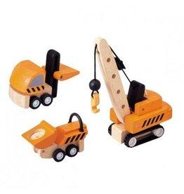 Plan Toys Plan Toys constructie voertuigen