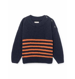 Bobo Choses Bobo Choses striped jumper medieval