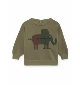 Bobo Choses Bobo Choses sweatshirt round neck pigphant deep